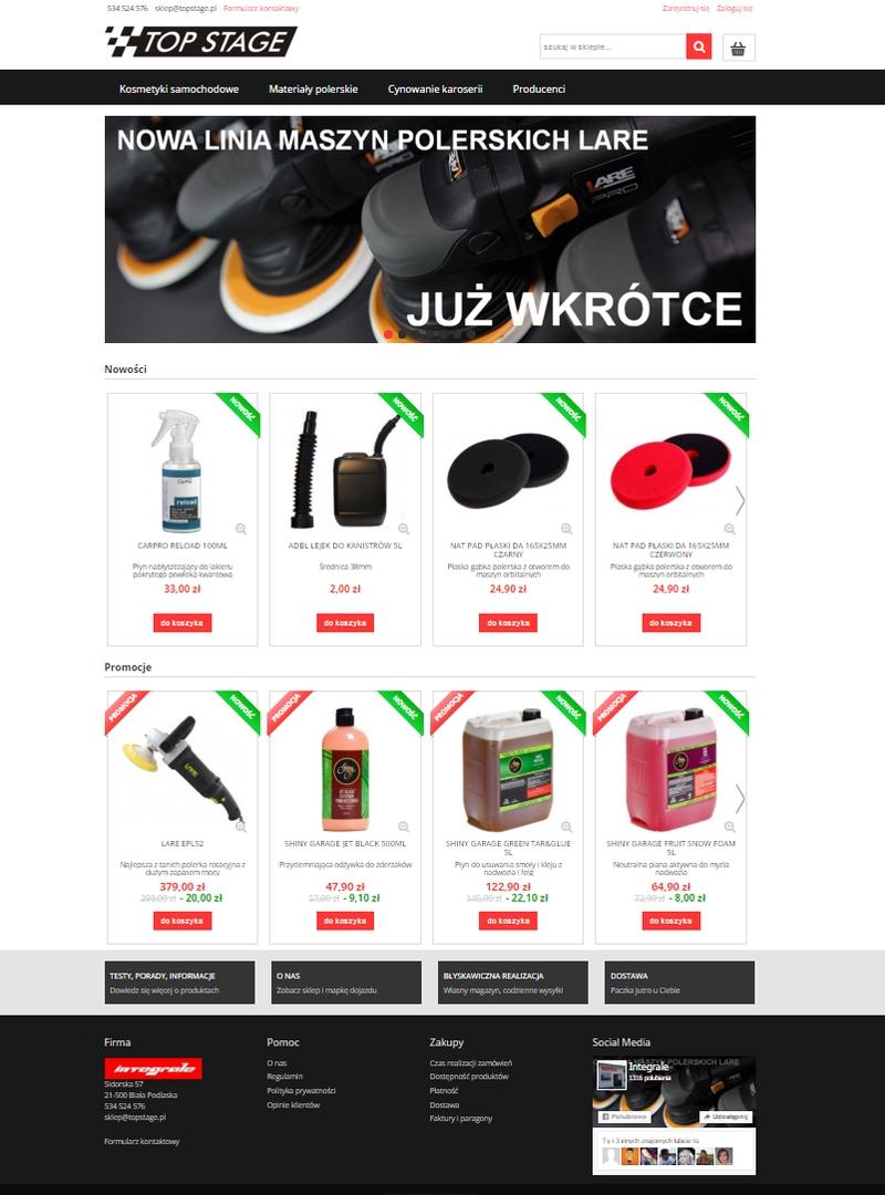 integrale-topstage-detailing-biała-podlaska-profesjonalne-kosmetyki-samochodowe-sklep-internetowy-główna1
